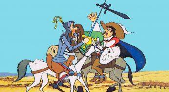 De qué raza es el perro de Don Quijote y cómo se llama. ¿Tenía perro?